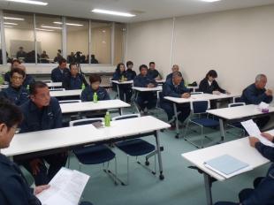 画像:平成28年11月度社内安全会議開催4