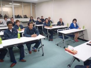 画像:平成29年9月度社内安全会議3