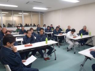 画像:平成29年11月度社内安全会議開催4