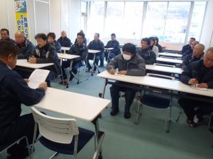 画像:平成29年12月度社内安全会議開催4
