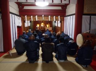 画像:平成30年新年安全祈願祭開催1