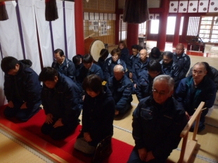 画像:平成30年新年安全祈願祭開催3