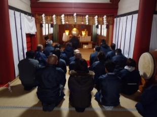 画像:平成30年新年安全祈願祭開催4